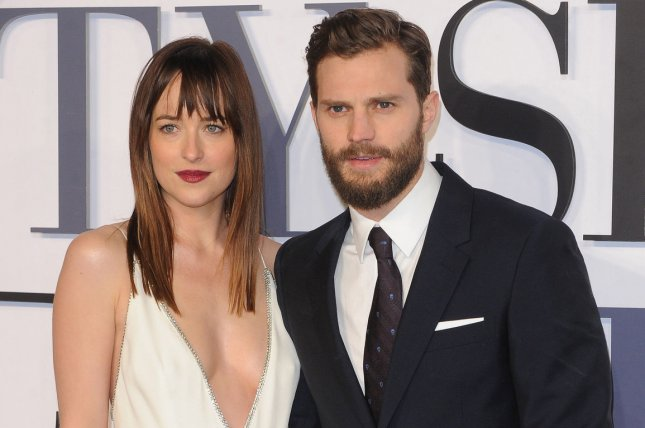 The Pair Play Christian Grey And Steele In The Fifty Shades Film