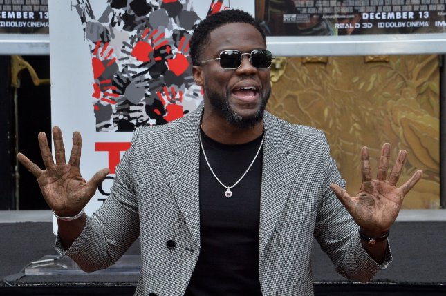Kevin Hart has signed on to co-star with Cate Blanchett in Borderlands. File Photo by Jim Ruymen/UPI