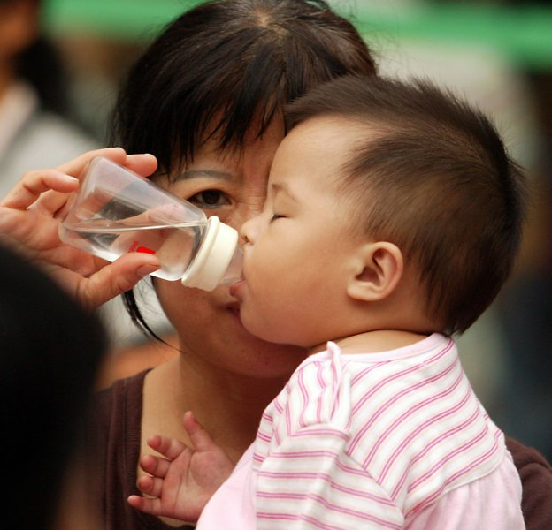 Breastfeeding up to a year linked to higher intelligence later. (UPI Photo/Stephen Shaver)
