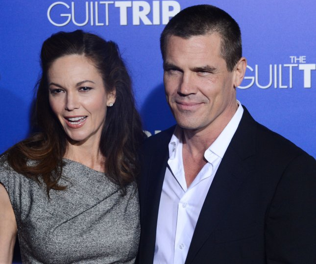 Actress Diane Lane and her husband Josh Brolin attend the premiere of the motion picture comedy The Guilt Trip, at the Regency Village Theatre in the Westwood section of Los Angeles on December 11, 2012. UPI/Jim Ruymen