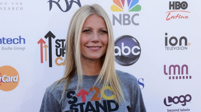 Actress Gwyneth Paltrow attends the televised Stand Up To Cancer fundraising event of the Entertainment Industry Foundation (EIF) at the Shrine Auditorium in Los Angeles on September 7, 2012. UPI/Jim Ruymen