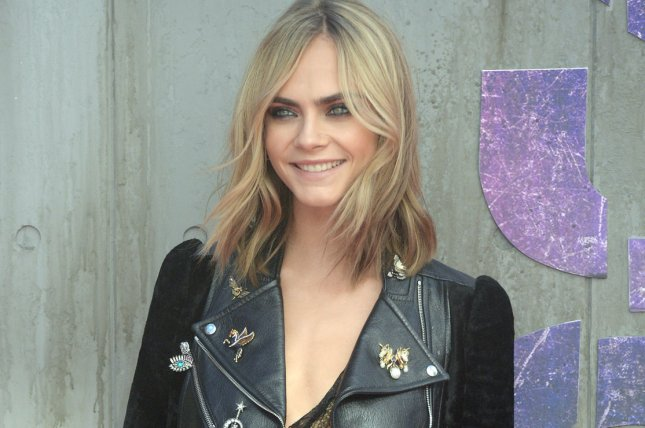 Actress/model Cara Delevingne attends the premiere of Suicide Squad in London on August 3, 2016. File Photo by Rune Hellestad/ UPI