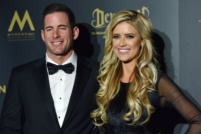 Christina El Moussa (R), pictured with Tarek El Moussa, spent New Year's Day with rumored boyfriend Ant Anstead. File Photo by Christine Chew/UPI