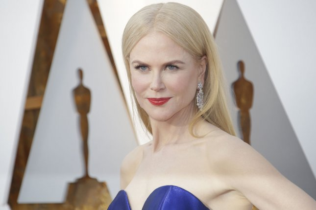 Nicole Kidman may potentially star as former news anchor Gretchen Carlson in a film about Roger Ailes. File Photo by John Angelillo/UPI