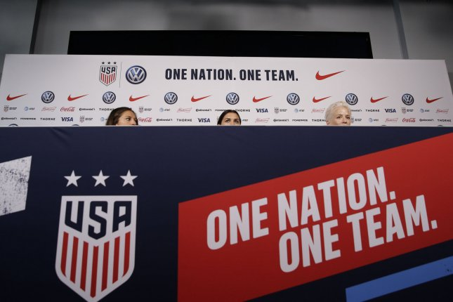 The U.S. Soccer Federation used its development academy as a way to mold players into elite prospects for its national teams, starting at a young age, before the academy was disbanded Wednesday. File Photo by John Angelillo/UPI