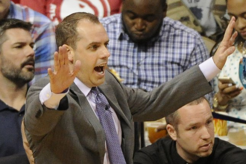 Former Indiana Pacers head coach Frank Vogel. UPI/David Tulis