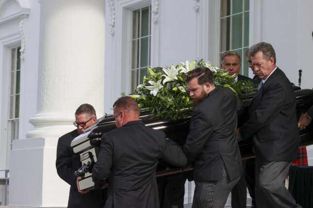 Funeral Service Held For Robert Trump At White House Upi Com