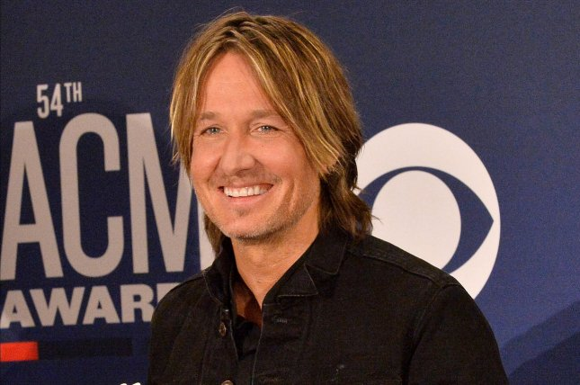 Keith Urban appears backstage at the 54th annual Academy of Country Music Awards on April 2019. Urban is hosting the awards show on Wednesday. File Photo by Jim Ruymen/UPI