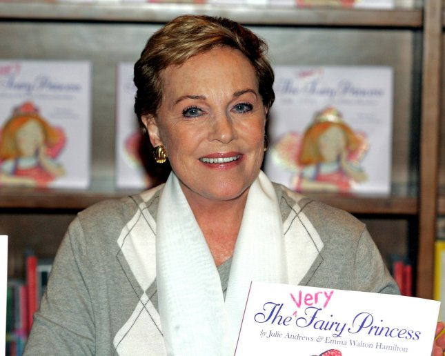 Author and actress Julie Andrews signs books during an event to promote her childrens book The Very Fairy Princess at Books and Books in Coral Gables Florida on July 11, 2010. UPI/Michael Bush
