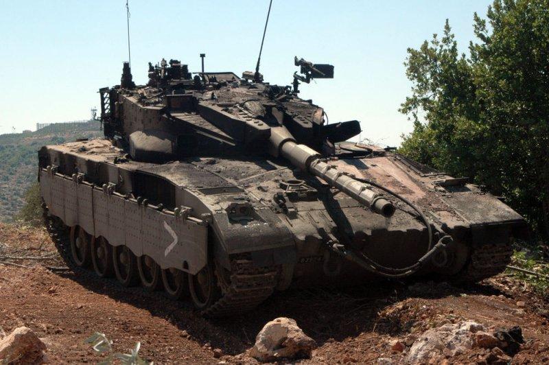 טנק מרכבה ככה צהל שיקר לחיילים ושלח אותם למותם בלבנון  Trophy-anti-missile-system-installed-on-Israeli-tanks