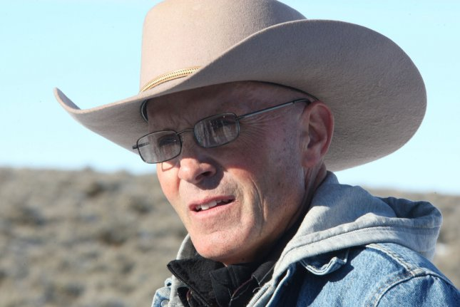 Robert LaVoy Finicum, 56, was shot dead on January 26, 2016, during a standoff with authorities. An FBI agent is now charged with lying about his role in the shooting death. File Photo by Jim Bryant/UPI