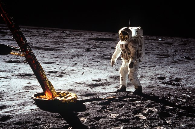On July 20, 1969, U.S. Apollo 11 astronauts Neil Armstrong and Edwin Buzz Aldrin became the first humans to set foot on the moon. File Photo courtesy of NASA