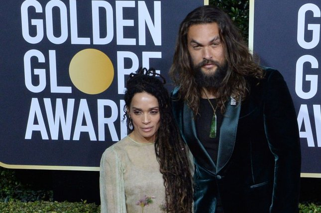 Jason Momoa (R), pictured with Lisa Bonet, recalled how he struggled professionally and financially after playing Khal Drogo on Game of Thrones. File Photo by Jim Ruymen/UPI