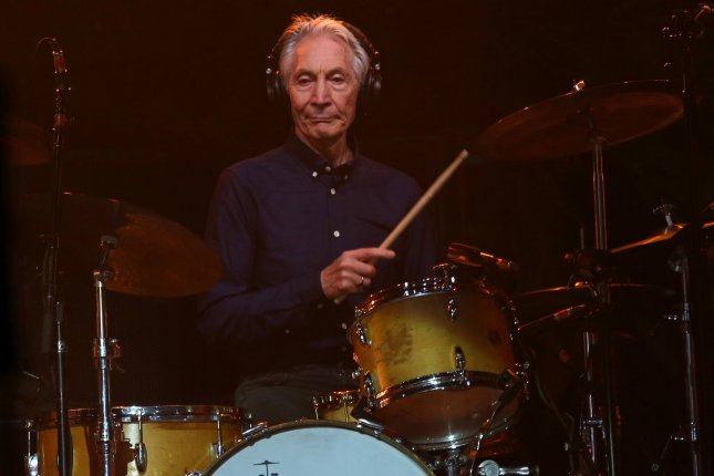 Charlie Watts of The Rolling Stones will be unable to join the band on tour following a medical procedure. File Photo by David Silpa/UPI