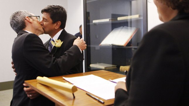 A Spanish court has said same-sex marriages are constitutional. UPI/Shannon Stapleton/Pool