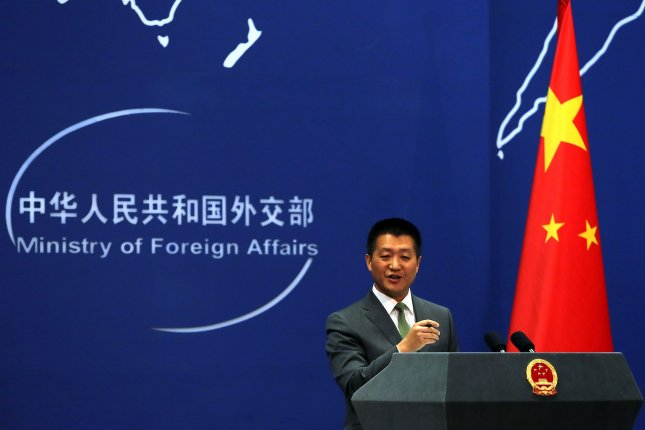 Chinese foreign ministry spokesman Lu Kang said sanctions will prevail despite the landmark summit between President Xi Jinping and North Korea's Kim Jong Un. File Photo by Stephen Shaver/UPI