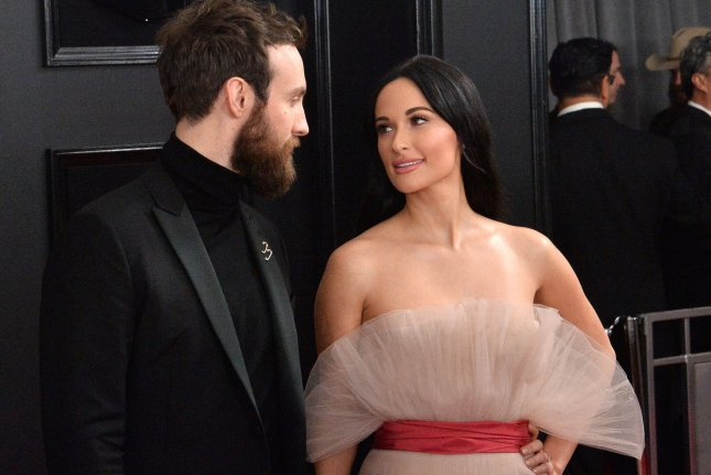 Ruston Kelly (L) and Kacey Musgraves are divorcing. File Photo by Jim Ruymen/UPI