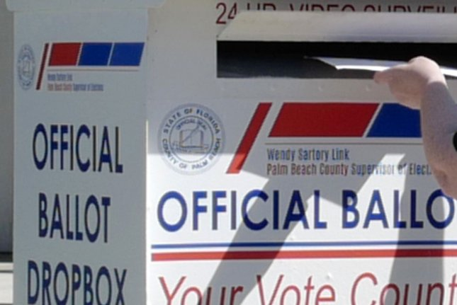 The U.S. Supreme Court on Monday ruled against allowing Wisconsin to extend its deadline to receive mail-in ballots postmarked by Election Day to Nov. 9. Photo by Gary I Rothstein/UPI