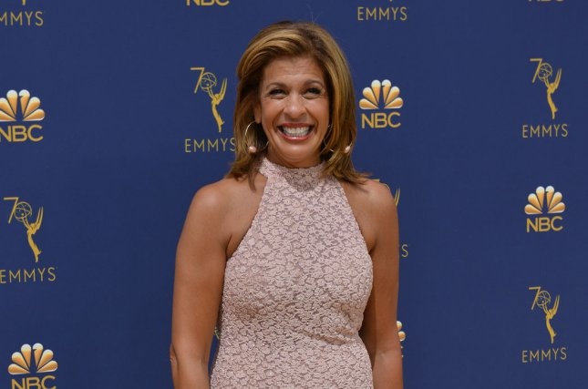Hoda Kotb will share uplifting stories and life lessons on the podcast Making Space with Hoda Kotb. FilePhoto by Christine Chew/UPI