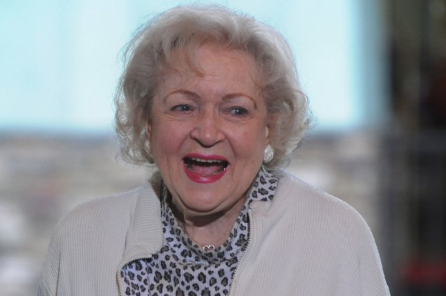 Betty White has ranked No. 1 on the InterMedia Entertainment Star Index for the second quarter of 2014. UPI/Jim Ruymen