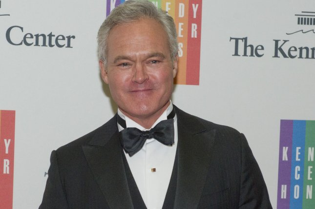 Scott Pelley arrives for the formal Artist's Dinner honoring the recipients of the 2013 Kennedy Center Honors in Washington, D.C. on December 7, 2013. Pelley is leaving the CBS Evening News to work full time on 60 Minutes. File Photo by Ron Sachs/Pool