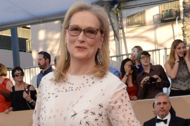 Meryl Streep arrives for the the SAG Awards on January 29. File Photo by Jim Ruymen/UPI