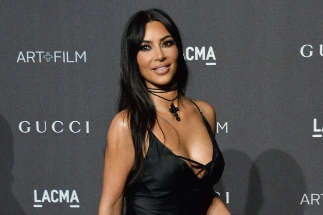 Kim Kardashian shared a slideshow from her mother-daughter shoot with North West. File Photo by Jim Ruymen/UPI