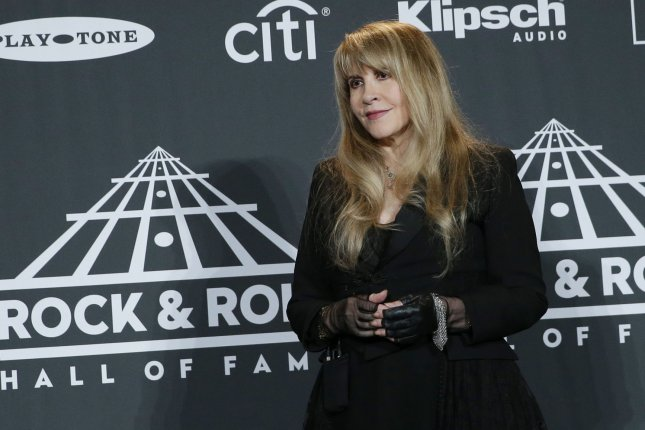 Inductee Stevie Nicks arrives in the press room at the 34th annual Rock and Roll Hall of Fame induction ceremonies at Barclays Center in New York City on March 29, 2019. The singer turns 72 on May 26. File Photo by John Angelillo/UPI