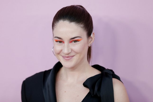 Shailene Woodley will star in comedy Robots from Anthony Hines. Jack Whitehall also stars. File Photo by John Angelillo/UPI