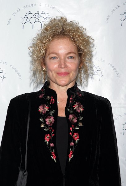 Amy Irving arrives for the New York Stage and Film's Annual Gala at the Plaza Hotel in New York on December 13, 2009. UPI /Laura Cavanaugh