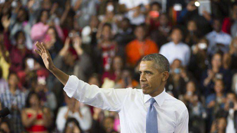 President Barack Obama waves after delivering remarks on the Affordable Care Act, also known as Obamacare. (File/UPI/Kevin Dietsch)