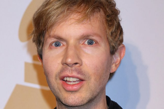 Beck arrives on the red carpet before the annual Clive Davis Pre-Grammy Gala in Beverly Hills, California on on February 7, 2015. Photo by David Silpa/UPI