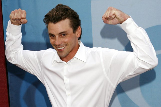 Skeet Ulrich arrives on the red carpet during the CBS unveiling of its new prime time lineup at Tavern on the Green restaurant in New York City on May 17, 2006. The actor will soon be seen in I Am Elizabeth Smart. File Photo by John Angelillo/UPI .