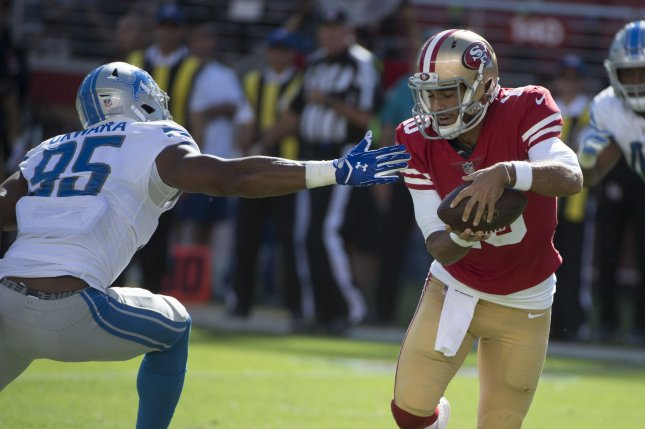 0045bf39 49ers QB Jimmy Garoppolo out for season with torn ACL - UPI.com