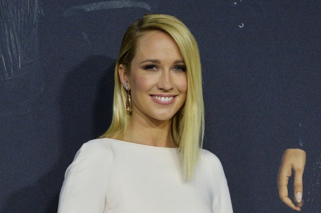 Anna Camp, who plays Aubrey Posen in the Pitch Perfect movies, discussed the possibility of a fourth film. File Photo by Jim Ruymen/UPI