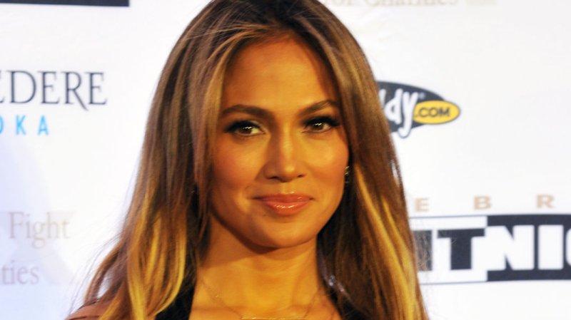 Actress Jennifer Lopez arrives at Muhammad Ali's Celebrity Fight Night which raises money for the Muhammad Ali Parkinson Center at Barrow Neurological Center in Phoenix, Arizona, March 23, 2013. UPI/Art Foxall
