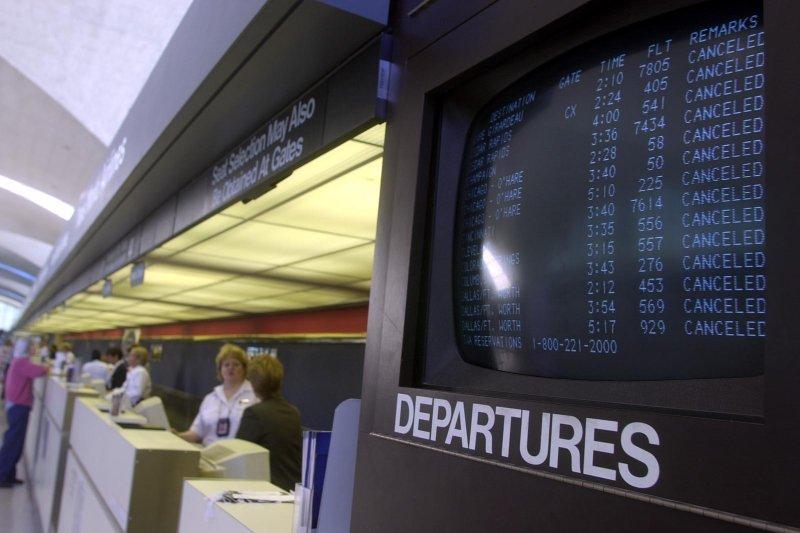 FAA extends ban on travel to Israel. (Bill Greenblatt/UPI)