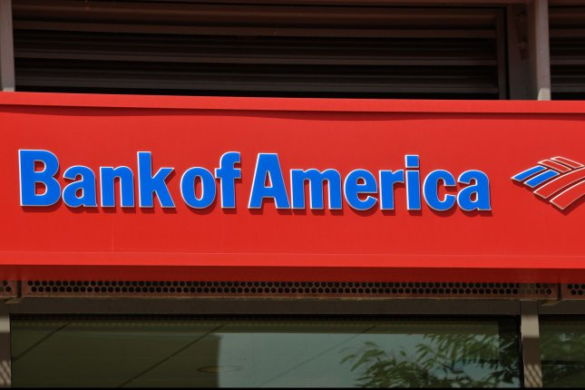 Bank of America reported a first quarter profit Monday of nearly $7 billion. File Photo by Alexis C. Glenn/UPI