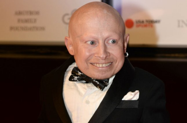 Actor Verne Troyer died Saturday at the age of 49. File Photo by Art Foxall/UPI