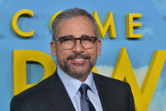 Actor Steve Carell's beloved sitcom The Office will only be available for streaming on NBCUniversal's digital platform, starting in 2021. File Photo by Jim Ruymen/UPI