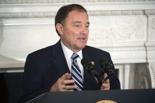 Utah Gov. Gary Herbert has proposed a new law to ban conversion therapy in the state. Photo by Kevin Dietsch/UPI