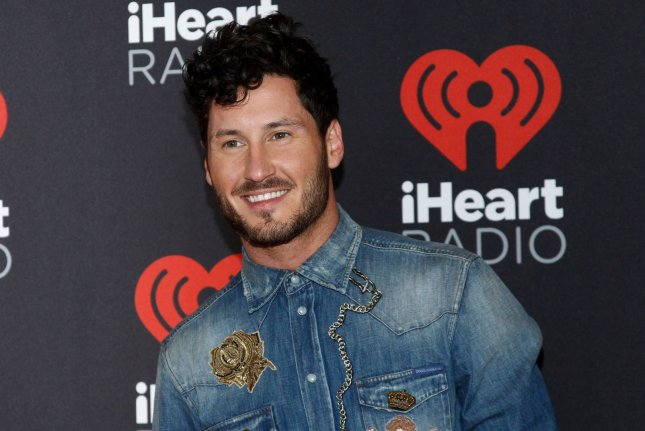Val Chmerkovskiy and Jenna Johnson voiced their love for each other on their wedding anniversary. File Photo by James Atoa/UPI