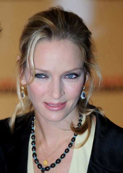 American actress Uma Thurman attends the premiere of The Accidental Husband at Vue, Leicester Square in London on February 13, 2008. (UPI Photo/Rune Hellestad)