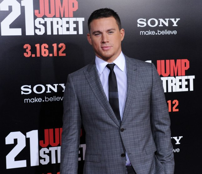 Actor Channing Tatum, a cast member in the motion picture action comedy 21 Jump Street, attends the premiere of the film at Grauman's Chinese Theatre in the Hollywood section of Los Angeles on March 13, 2012. UPI/Jim Ruymen