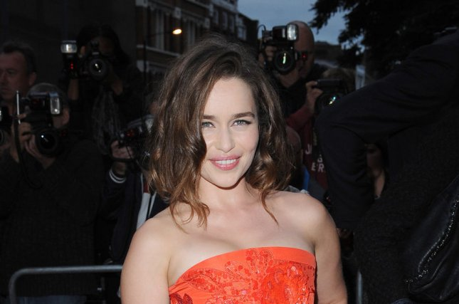 Emilia Clarke at the GQ Men of the Year Awards on September 8, 2015. File photo by Paul Treadway/UPI