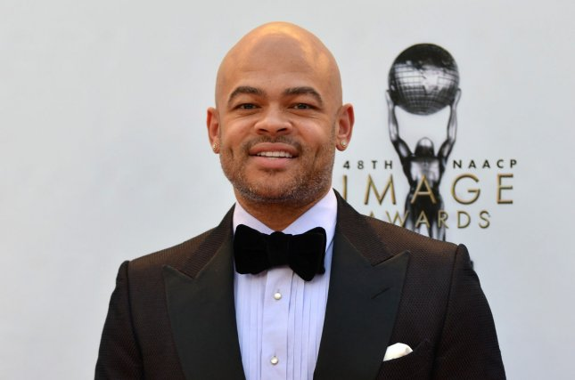 Director Anthony Hemingway arrives for the 48th NAACP Image Awards on February 11. Hemingway is set to direct NBC's Unsolved: The Murders of Biggie and Tupac. Photo by Christine Chew/UPI