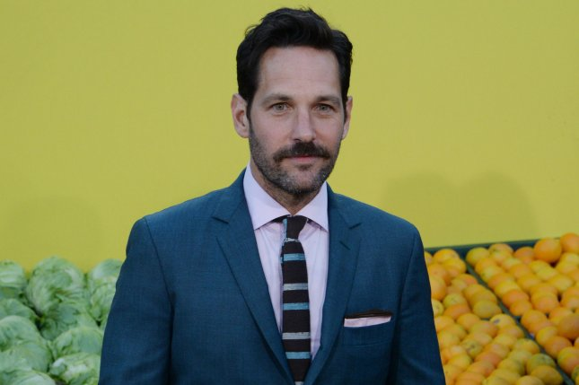 Paul Rudd stars in the first trailer for Ant-Man and the Wasp alongside Evangeline Lilly. File Photo by Jim Ruymen/UPI
