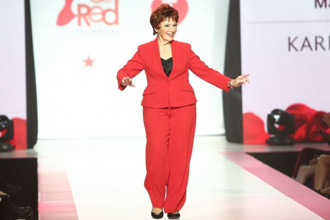 Marion Ross walks on the runway at the American Heart Association's Go Red for Women Red Dress Collection 2018 on February 8 in New York City. The actress told UPI before the fashion show that she is now retired from acting. Photo by Serena Xu-Ning/UPI