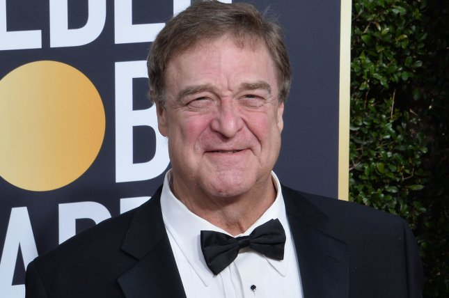 Actor John Goodman and the cast of The Conners will perform a live version of the sitcom on Feb. 11. File Photo by Jim Ruymen/UPI
