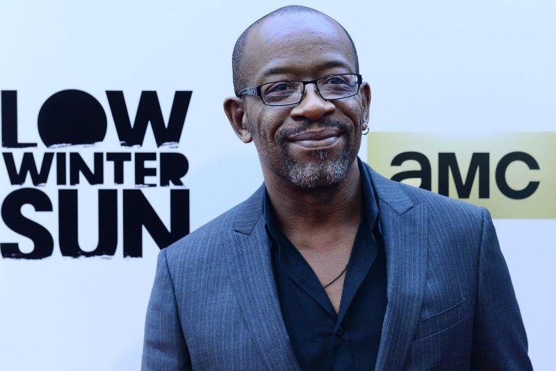 Lennie James' Fear the Walking Dead starts its sixth season on AMC Sunday. File Photo by Jim Ruymen/UPI